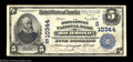 National Bank Notes:Virginia, Richmond, VA - $5 1902 Plain Back Fr. 603 The Broadway ...