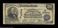 National Bank Notes:Virginia, Richmond, VA - $20 1902 Plain Back Fr. 655 The Broadway ...