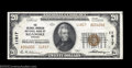National Bank Notes:Virginia, Roanoke, VA - $20 1929 Ty. 2 The Colonial-American NB of ...