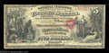 National Bank Notes:Virginia, Winchester, VA - $5 Original Fr. 397 The Shenandoah ...
