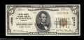 National Bank Notes:Virginia, Wytheville, VA - $5 1929 Ty. 1 Wythe County NB Ch. # ...