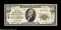 National Bank Notes:West Virginia, Moundsville, WV - $10 1929 Ty. 1 The First NB Ch. # ...