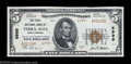 National Bank Notes:West Virginia, Terra Alta, WV - $5 1929 Ty. 2 The First NB Ch. # ...