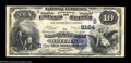 National Bank Notes:West Virginia, Wheeling, WV - $10 1882 Date Back Fr. 545 The National ...