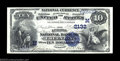 National Bank Notes:Wisconsin, Green Bay, WI - $10 1882 Date Back Fr. 542 The Kellogg ...