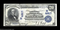 National Bank Notes:Wisconsin, Milwaukee, WI - $20 1902 Date Back Fr. 646 The Wisconsin ...