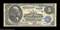 National Bank Notes:Wisconsin, Milwaukee, WI - $5 1882 Value Back Fr. 574 The Marine NB ...