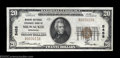 National Bank Notes:Wisconsin, Milwaukee, WI - $20 1929 Ty. 1 Marine National Exchange ...