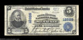 National Bank Notes:Wisconsin, Milwaukee, WI - $5 1902 Plain Back Fr. 609 The Grand & ...