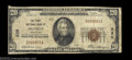 National Bank Notes:Wisconsin, Monroe, WI - $20 1929 Ty. 1 The First NB Ch. # 230