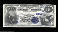 National Bank Notes:Wisconsin, Waukesha, WI - $10 1882 Value Back Fr. 577 The National ...