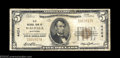 National Bank Notes:Wisconsin, Waupaca, WI - $5 1929 Ty. 1 Old NB Ch. # 4424