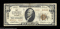 National Bank Notes:Wisconsin, Waupaca, WI - $10 1929 Ty. 2 First NB Ch. # 14063