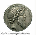 Ancients:Greek, Ancients: Seleukid Kingdom. Demetrios II. Second reign, ca. 130-125B.C. AR tetradrachm (29 mm, 16.64 g). Tarsos. Diademed head right...