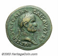 Ancients:Roman, Ancients: Galba. A.D. 68-69. AE sestertius (36 mm, 26.47 g). Rome,ca. late Summer A.D. 68. Laureate and draped bust right / Libertas...
