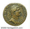 Ancients:Roman, Ancients: Hadrian. A.D. 117-138. AE sestertius (32 mm, 25.33 g).Rome, A.D. 132-134. Laureate and cuirassed bust right / Galleysailin...
