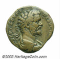 Ancients:Roman, Ancients: Septimius Severus. A.D. 193-211. AE sestertius (31 mm,24.29 g). Rome, A.D. 194. Laureate, draped and cuirassed bust right/...