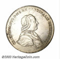Austria: , Austria: Vienna. Christoph Anton Taler 1781, Dav-1267, KM1, AU,cleaned and one small flaw on the obverse rim at 9 o'clock. Veryscar...