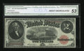 Large Size:Legal Tender Notes, Fr. 57 $2 1917 Legal Tender CGA About Uncirculated 53....