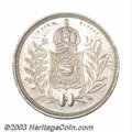 Brazil: , Brazil: Empire - Pedro II. 1200 Reis 1840, KM454, overdate 4/3 butno evidence of 0/7 as listed in KM. Rare date with a reportedmin...