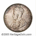 British Honduras: , British Honduras: George V 50 Cents 1919, KM18, AU, nicely toned, just a scattering of small surface marks on the obverse as is almost always ...