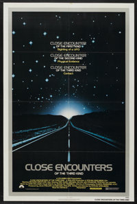 "Close Encounters of the Third Kind (Columbia, 1977). One Sheet (27"" X 41""). Science Fiction"