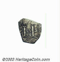 Colombia: , Colombia: Felipe IV Cob 1 Real, KM9, (1651-1662), VF, light surfaceoxidation, obverse details are quite bold, including the Nmintmar...