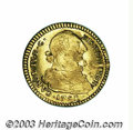 Colombia: , Colombia: Carlos IV gold 2 Escudos 1790P-SF, KM51.2, bust of CarlosIII, scarce transitional type. VF, some luster remains in thelege...
