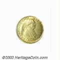 Colombia: , Colombia: Ferdinand VII gold Escudo 1817NR-JF, KM64.1, AU, verychoice with extremely sharp details and full mint luster. There isone...