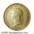 Colombia: , Colombia: Nueva Granada. Gold 16 Pesos 1849 Bogota, KM100, veryscarce type, VF, typical small surface marks and a few rim bumps. ....