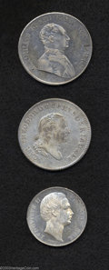 German States:Bavaria, German States: Bavaria. Carl Theodor Taler 1786, KM258.3, Dav-1959,Fine, weakly struck obverse and a scattering of carbon spots acrossthe... (Total: 3 coins Item)