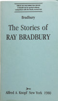 Books:Signed Editions, Ray Bradbury. The Stories of Ray Bradbury....