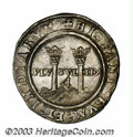 Mexico: , Mexico: Carlos and Johanna 4 Reales (1506-1516), Cayon type 30,#793, G assayer and M mintmark. Choice AU, a superb coin withextrem...