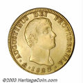 Mexico: , Mexico: Augustin Iturbide gold 8 Escudos 1823-JM, KM314, VF, verylightly polished, but a nice strike and a rare type.. From theM...
