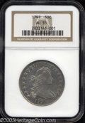 Early Half Dollars: , 1797 50C AU55 NGC. O-101a, R.5. Long known to be the most ...