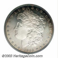 Proof Morgan Dollars: , 1895 $1 PR64 Cameo PCGS. Although Mint records indicate ...
