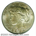 Peace Dollars: , 1928-S $1 MS65 PCGS. VAM-3. Top 50 Variety. IN GOD WE ...