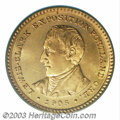 Commemorative Gold: , 1905 G$1 Lewis and Clark MS65 PCGS. Only 10,041 pieces ...