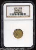 Proof Indian Quarter Eagles: , 1915 $2 1/2 PR64 NGC. The unpopularity of the matte style ...