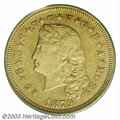 Proof Four Dollar Gold Pieces: , 1879 $4 Flowing Hair, Judd-1635, Pollock-1832, 1833, R.3, 6,...