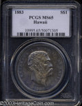 Coins of Hawaii: , 1883 $1 Hawaii Dollar MS65 PCGS. One of the finest ...