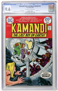 Bronze Age (1970-1979):Science Fiction, Kamandi, the Last Boy on Earth #15 (DC, 1974) CGC NM+ 9.6 Off-white to white pages....