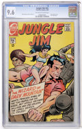 Silver Age (1956-1969):Adventure, Jungle Jim #22 (Charlton, 1969) CGC NM+ 9.6 Off-white to white pages....