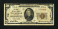 National Bank Notes:Maryland, Westminster, MD - $20 1929 Ty. 1 The First NB Ch. # 742. ...