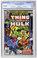 Modern Age (1980-Present):Superhero, Marvel Two-In-One #46 The Thing and the Incredible Hulk (Marvel,1978) CGC NM/MT 9.8 White pages....