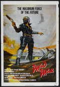 """Movie Posters:Science Fiction, Mad Max (Roadshow Film Distributors, 1979). One Sheet (27"""" X 41"""").Science Fiction. Starring Mel Gibson, Joanne Samuel and H..."""