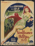 "Movie Posters:Adventure, Bride of Vengeance (Paramount, 1949). French Petite (23.5"" X31.5""). Drama. Starring Paulette Goddard, John Lund, Macdonald ..."