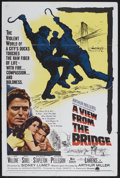 """Movie Posters:Drama, A View from the Bridge (Continental, 1961). One Sheet (27"""" X 41""""). Drama. Starring Raf Vallone, Jean Sorel, Maureen Stapleto..."""