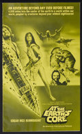 Movie Posters:Science Fiction, At the Earth's Core (AIP, 1976). Pressbook (Multiple Pages). Sci-Fi Adventure. Starring Doug McClure, Peter Cushing, Carolin... (Total: 2 Items)