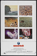 "Movie Posters:Rock and Roll, Woodstock (Warner Brothers, 1970). One Sheet (27"" X 41""). Rock andRoll Documentary. Featuring Joan Baez, Joe Cocker, Countr..."